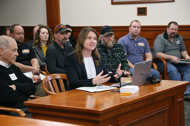 The House Committee on Natural Resources and Outdoor Recreation held a hearing on a bill sponsored by state Rep. Sara Cambensy (D-Marquette) that would strengthen and develop a sustainable mining, minerals and aggregate industry in Michigan, on Tuesday, March 19, 2019. Cambensy's House Bill 4227 would create the Committee on Michigan's Mining Future in order to guide sound, long-term mining policy in the state.