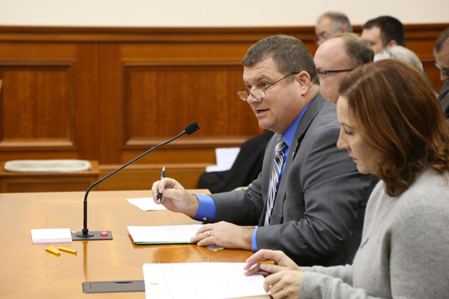 State Rep. Terry Sabo (D-Muskegon) testified before the House Judiciary Committee on HB5121, Tuesday, October 24, 2017.