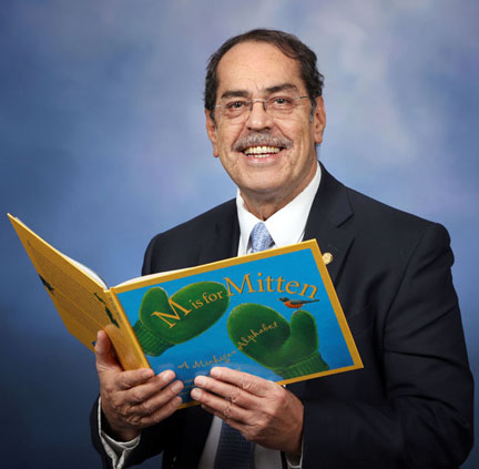 In celebration of March is Reading Month, State Rep. Tim Sneller (D-Burton) will be reading to elementary school classes throughout his district.