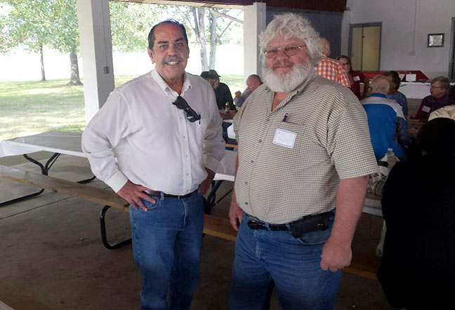 State Rep. Tim Sneller (D-Burton) attended the UAW Local 326 Retiree Picnic on September 10, 2017.