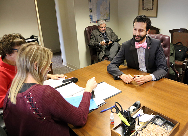 State Rep. Yousef Rabhi (D-Ann Arbor) joined fellow Democratic legislators submitting the TeA+chers for Michigan education plan — a 21st-century overhaul of the state's K-12 schools — designed to prepare the best, attract the brightest and retain the finest Michigan educators, on January 25, 2018.