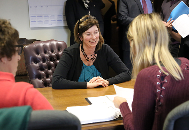 State Rep. Cara Clement (D-Lincoln Park) joined fellow Democratic legislators submitting the TeA+chers for Michigan education plan — a 21st-century overhaul of the state's K-12 schools — designed to prepare the best, attract the brightest and retain the finest Michigan educators.