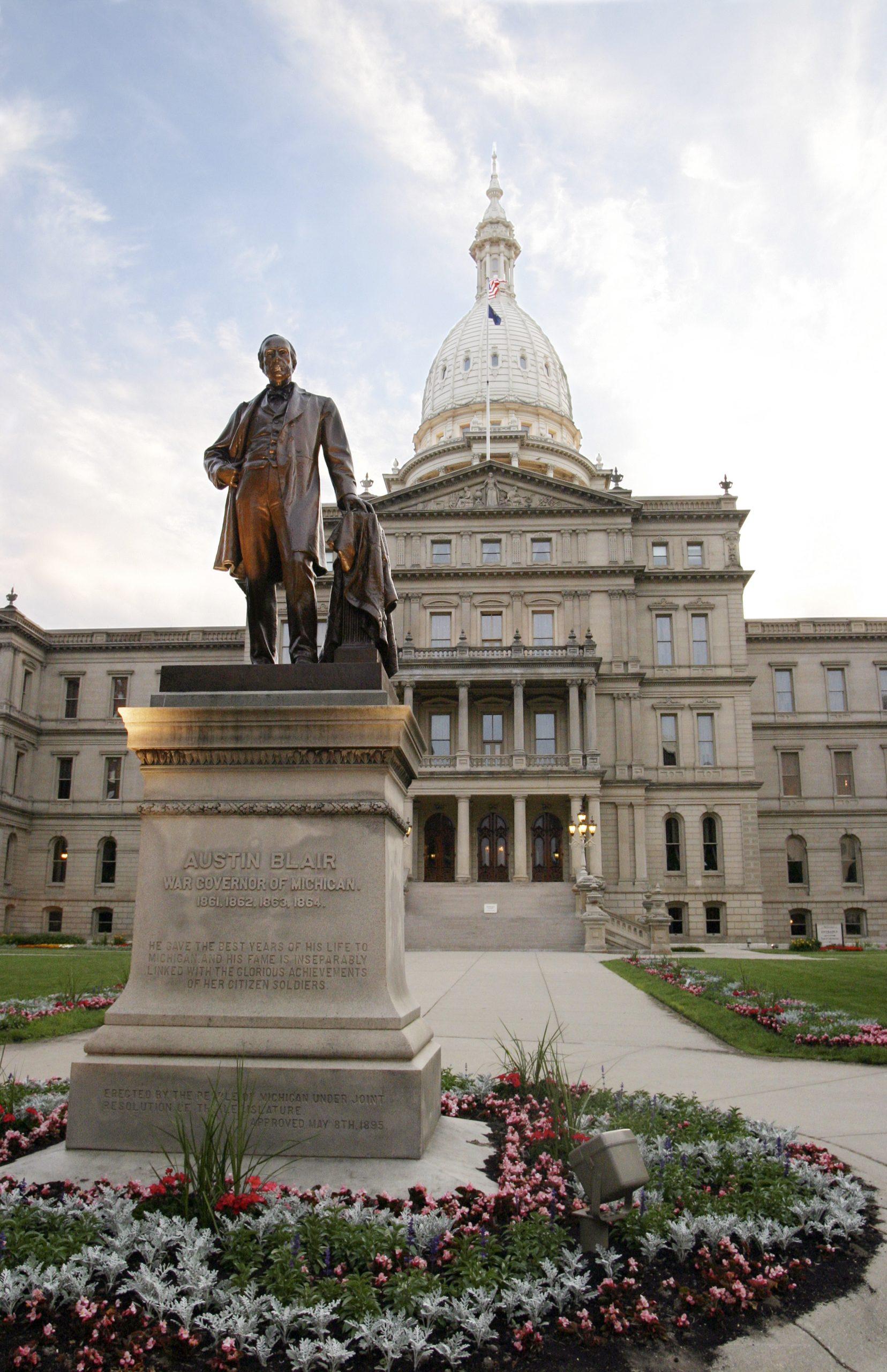 Austin Blair Statue