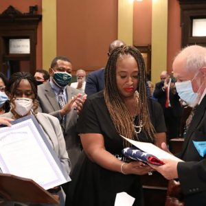 Michigan House of Representatives Honors Rep. Isaac Robinson
