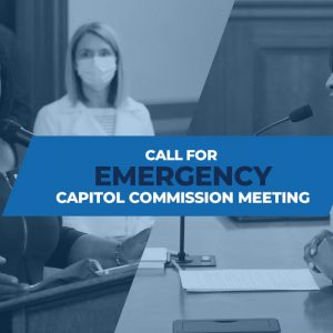 Reps. Anthony and Carter and the House Democratic Caucus Call for Emergency Capitol Commission Meeting