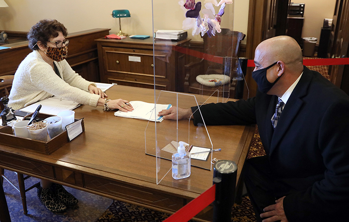 State Rep. Tullio Liberati (D-Allen Park) submitted his first bill, legislation to protect whistleblowers and victims of discrimination, on Thursday, February 25, 2021. House Bill 4381 would amend section 602 of the Elliott-Larsen Civil Rights Act (1976 PA 453) by adding an anonymity clause to protect all persons alleging a violation.