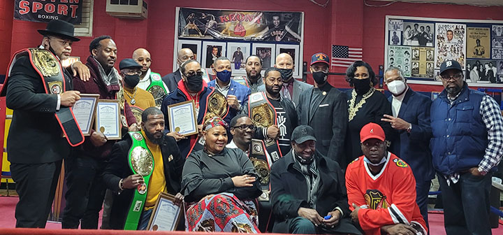 State Rep. Stephanie Young (D-Detroit) met with 10 men who were unjustly convicted and collectively served more than 201 years in the Michigan Department of Corrections, Feb. 27 at the Kronk Boxing Community Center in Detroit.