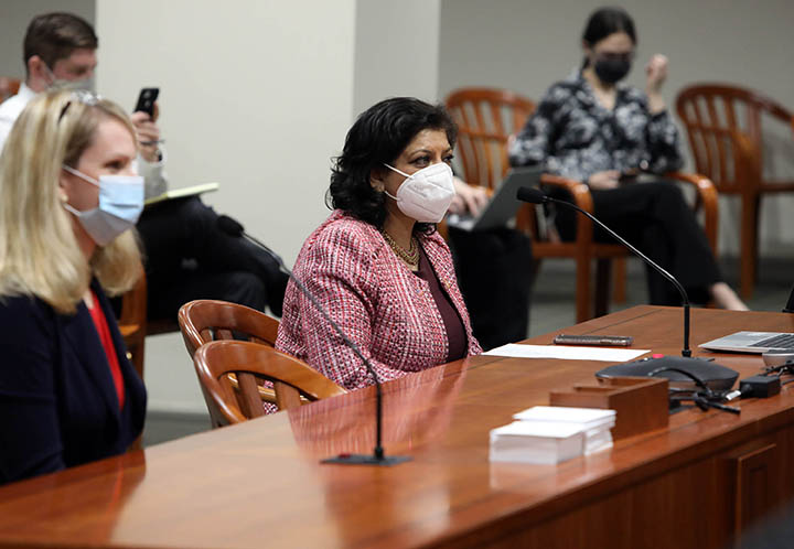 State Rep. Padma Kuppa (D-Troy) testified on HB 4159 in the House Committee on Families, Children and Seniors on Marcj 16, 2021.