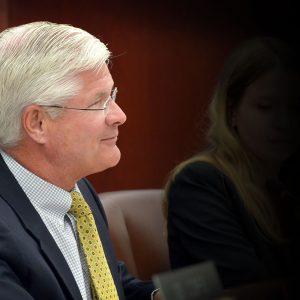 Lasinski on revelation of Shirkey's business ties to China