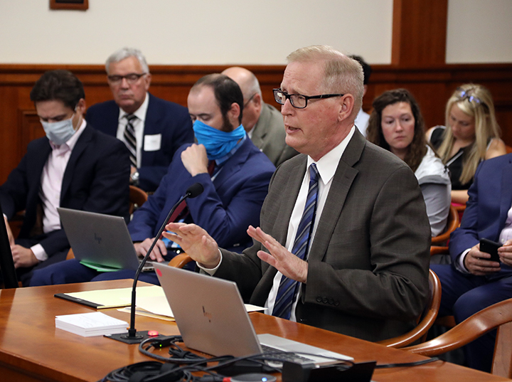 State Rep. Jim Haadsma (D-Battle Creek) testified on HB 4618 in the House Committee on Financial Services on May 26, 2021.