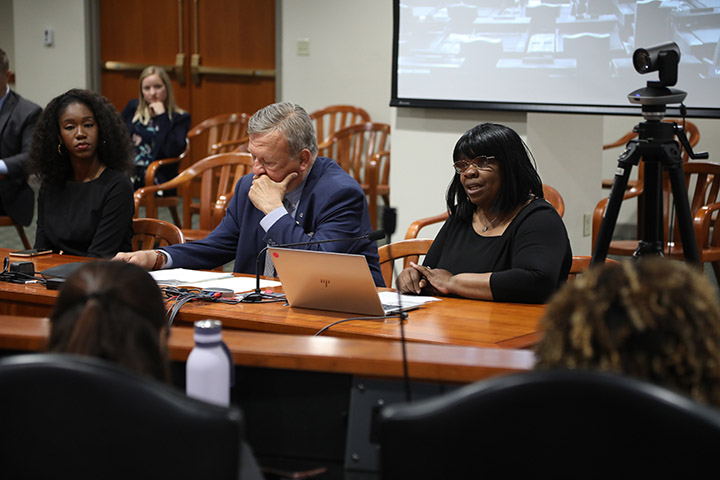 State Rep. Brenda Carter (D-Pontiac) testified on House Bill 4479, which would add protections for vulnerable elder adults, in the House Committee on Families, Children and Seniors on June 8, 2021.