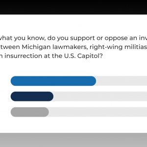 Lasinski on Poll Finding a Majority of Michiganders Support Insurrection Investigation