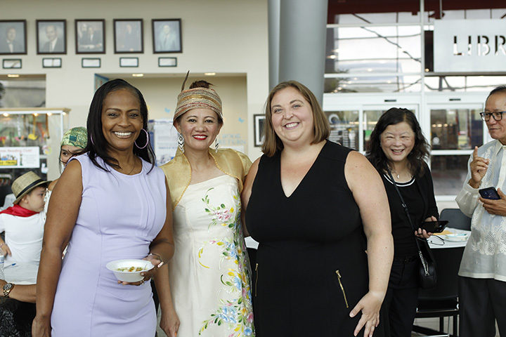 State Rep. Lori Stone (D-Warren) attended the Asian Rice Festival in Warren on August 4, 2021.